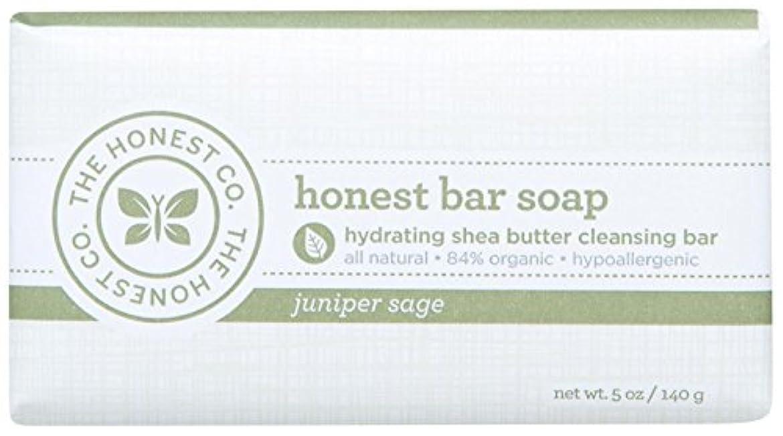 カヌー助手と遊ぶHonest Bar Soap - Juniper Sage - 5 oz by The Honest Company