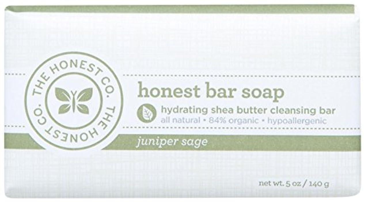 フレームワークバスタブアベニューHonest Bar Soap - Juniper Sage - 5 oz by The Honest Company