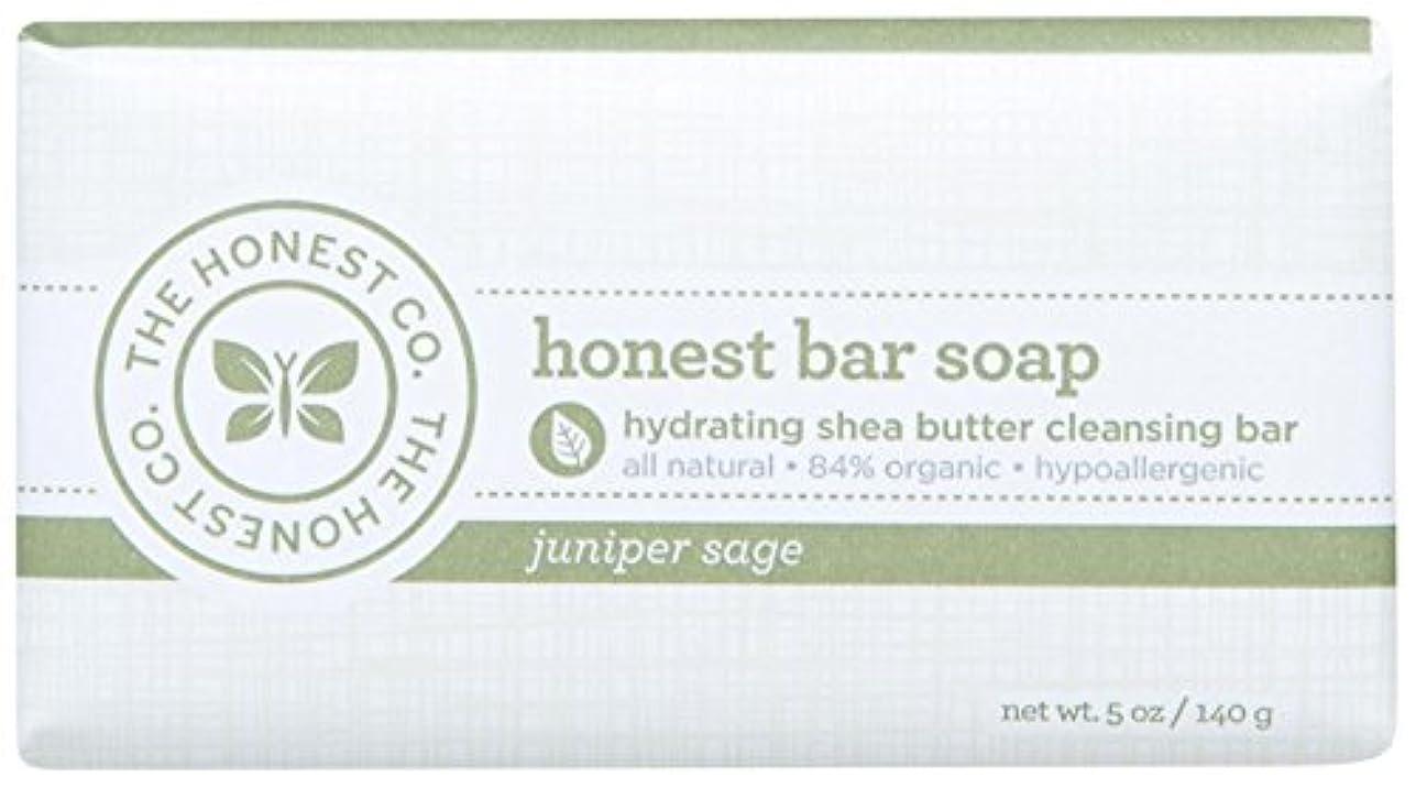 保護あいさつトランジスタHonest Bar Soap - Juniper Sage - 5 oz by The Honest Company
