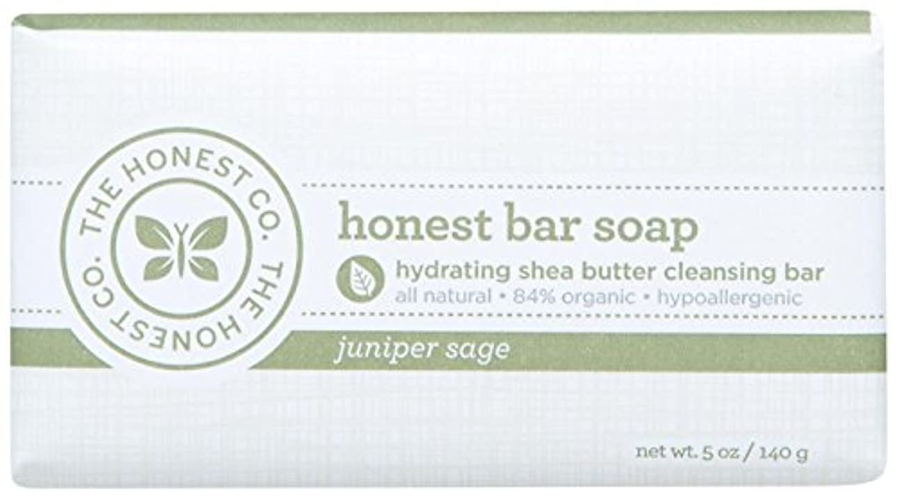 主権者熟読する犯罪Honest Bar Soap - Juniper Sage - 5 oz by The Honest Company