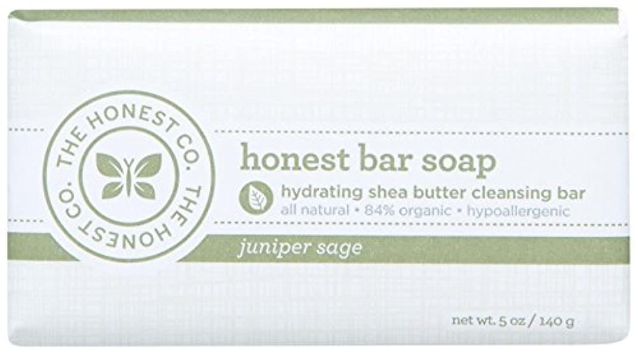イデオロギー上昇壮大なHonest Bar Soap - Juniper Sage - 5 oz by The Honest Company