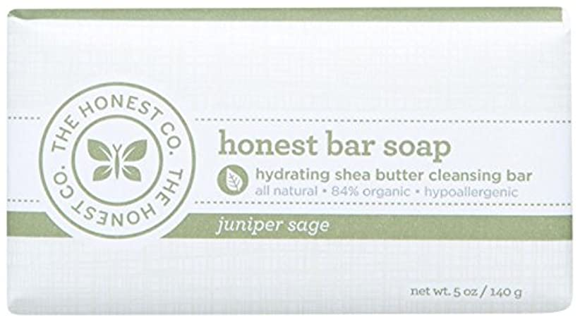 闇容疑者ネックレスHonest Bar Soap - Juniper Sage - 5 oz by The Honest Company