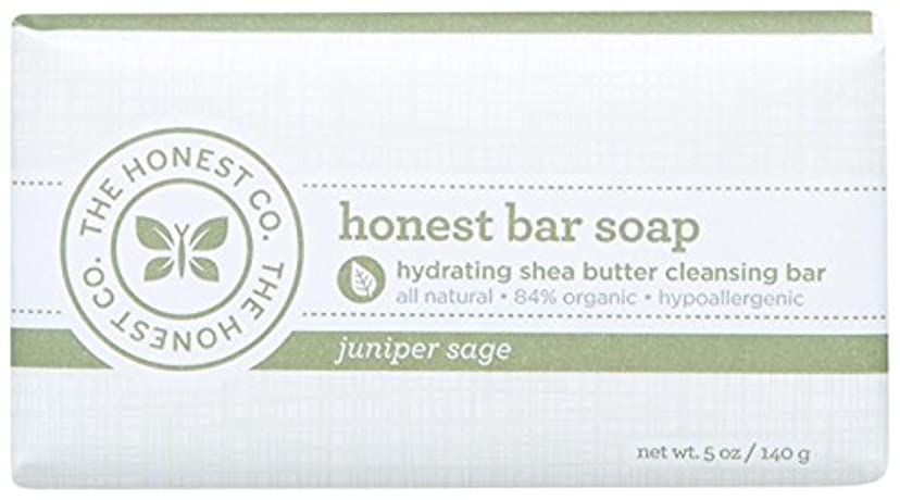 無秩序気怠い通りHonest Bar Soap - Juniper Sage - 5 oz by The Honest Company