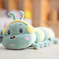 けむし 毛虫 ぬいぐるみ 抱き枕 かわいい ふわふわ 癒し 萌え おもちゃ 子供 彼女 彼氏 ギフト プレゼント お祝い 誕生日 インテリア 雑貨 ケムシ 抱きクッション ピンク グリーン 45-95CM