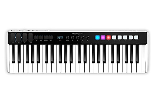 IK Multimedia iRig Keys I/O 49 オーディオ・インターフェイス&MIDIキーボード [並行輸入品]