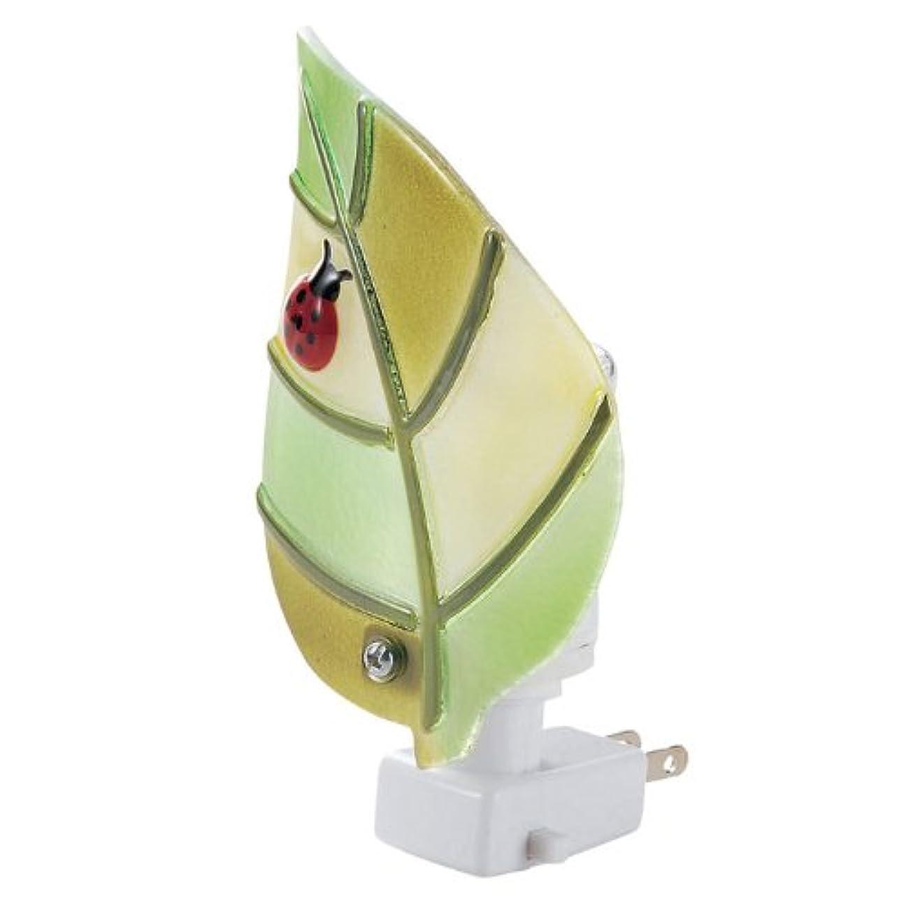 葉を拾うぐるぐるひまわり癒しのアロマランプ(リーフ)