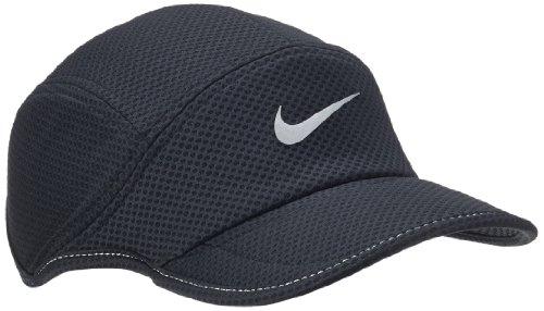 ランニングアクセサリー 帽子 メッシュデイブレイクランニングキャップ ブラック ナイキ
