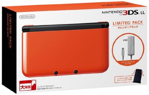 ニンテンドー3DS LL リミテッドパック オレンジXブラック
