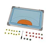 Toygogo サッカー盤 作戦盤 作戦ボード コーチボード 戦略ボード アルミニウム質 審判 教師 コーチ 用品