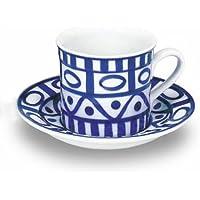 DANSK アラベスク コーヒーカップ&ソーサー 539480