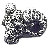 ゴートリング サイズ10号 スターリングシルバー製 LOVECRAFT(ラブクラフト) メンズ 山羊 ヤギ 動物 日本製