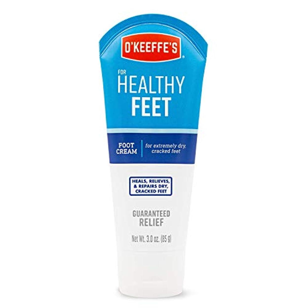 しばしば中断堤防オキーフス ワーキングフィートクリーム チューブ  85g 1点 (並行輸入品) O'Keeffe's Working Feet Tube Cream 3oz