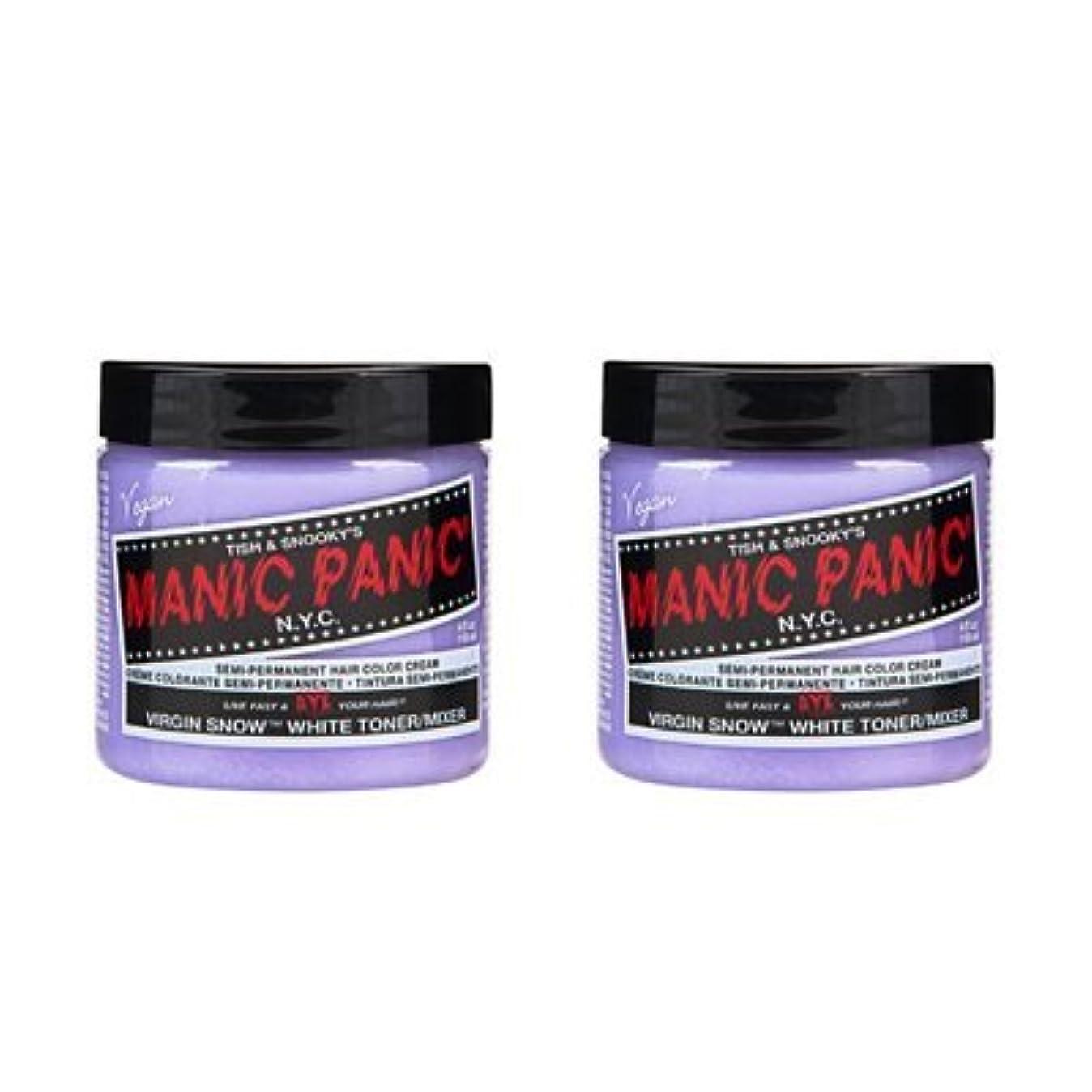 泥かどうか一般化する【2個セット】MANIC PANIC マニックパニック Virgin Snow (ヴァージン?スノー) 118ml