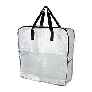 IKEA(イケア) DIMPA 90187753 収納バッグ, 透明