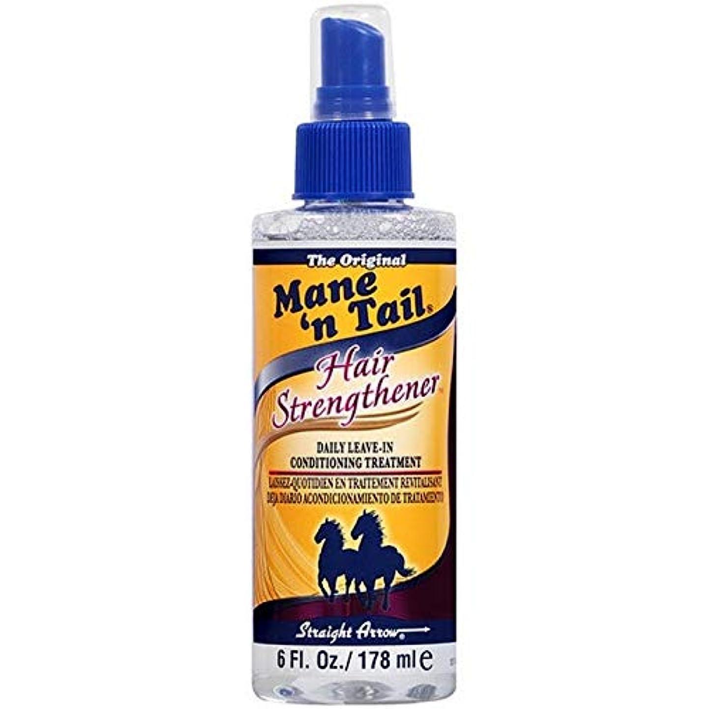 プロトタイプ知らせる延期する[Mane n Tail ] たてがみ「N尾毛の強化剤の178ミリリットル - Mane 'n Tail Hair Strengthener 178ml [並行輸入品]