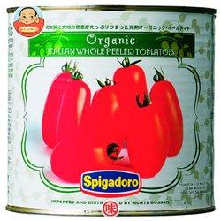モンテ物産(株) スピガドーロ 有機ホールトマト2.55kg缶×6個入