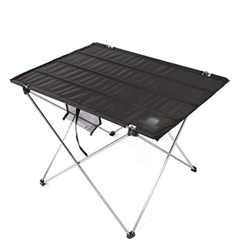 光沢厚い踊り子折りたたみ式テーブル アウトドア 焼きピクニックテーブルライトポータブル折りたたみテーブルと椅子屋外キャンプアルミオックスフォードテーブル 折りたたみ式テーブル