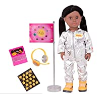 Our Generation プロフェッショナル アフリカ系アメリカ人人形 宇宙飛行士 ローラ