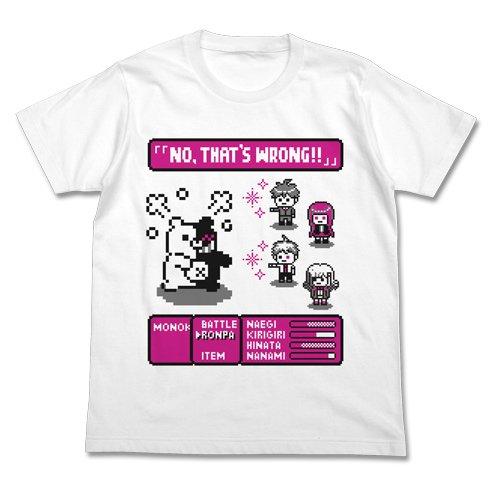 ダンガンロンパ3 -The End of 希望ヶ峰学園- RPG Tシャツ ホワイト XLサイズの詳細を見る
