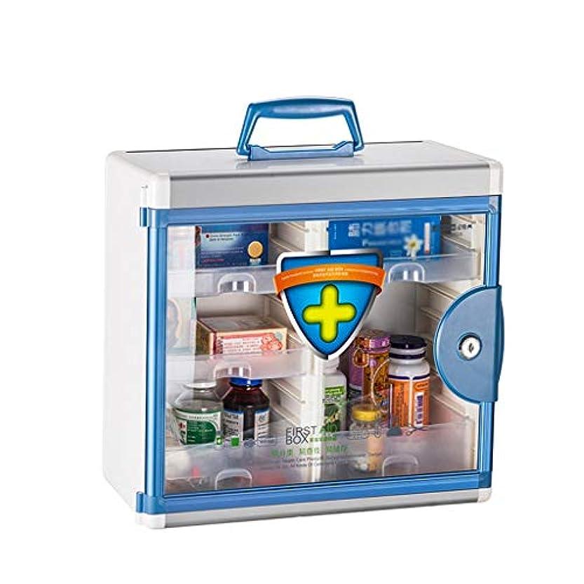 が欲しい欠伸鉄JJJJD 応急処置ボックス壁掛け医療ボックス、薬局、アルミコンビネーションキーキャビネット+セキュリティガラスドアロック可能