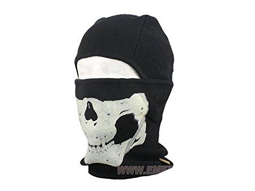 EMERSON製 厚手 フェイスマスク スカル 蓄光 ウォー...