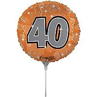 Creative Converting air-filled Age 40バルーンスティックとジョイナ18、、