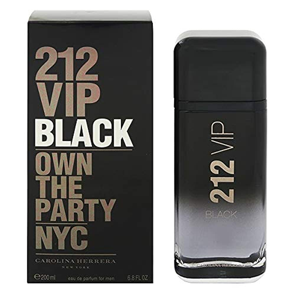 銀行ゆり量【キャロライナヘレラ】212 VIP メン ブラック EDP?SP 200ml [並行輸入品]