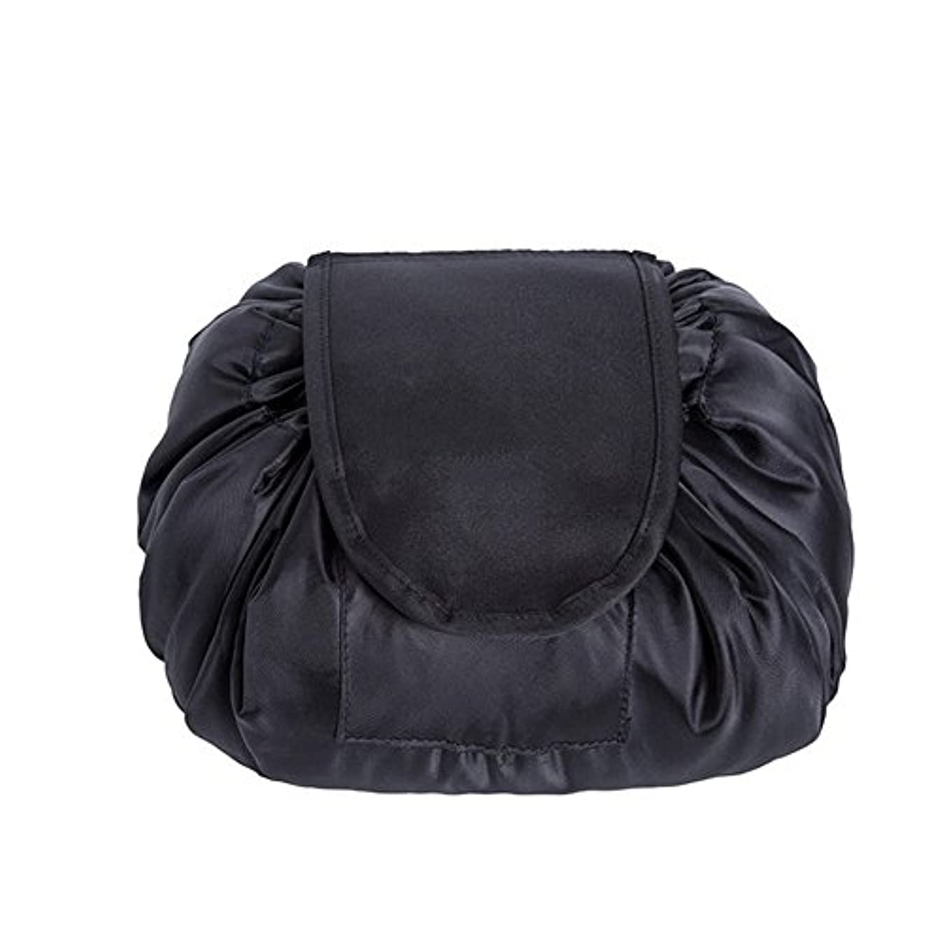 話リスク比類のないSimonJp メイクポーチ 化粧ポーチ 化粧品収納 収納ポーチ 多機能 大容量 巾着袋 防水 携帯 軽量 旅行 便利 ブラック