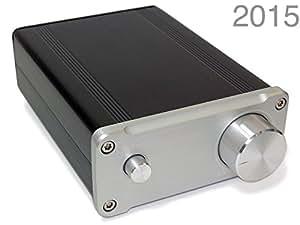 S.M.S.L ミニHi-Fiデジタルアンプ [TDA7492PE搭載] (シルバー(銀/2015)) SA-36A pro(2015) [並行輸入品]