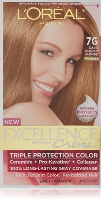 アンソロジーメッシュ予想外Excellence Dark Golden Blonde by L'Oreal Paris Hair Color [並行輸入品]