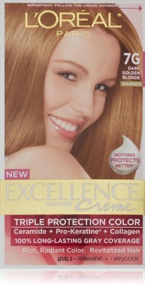 登る小川する必要があるExcellence Dark Golden Blonde by L'Oreal Paris Hair Color [並行輸入品]