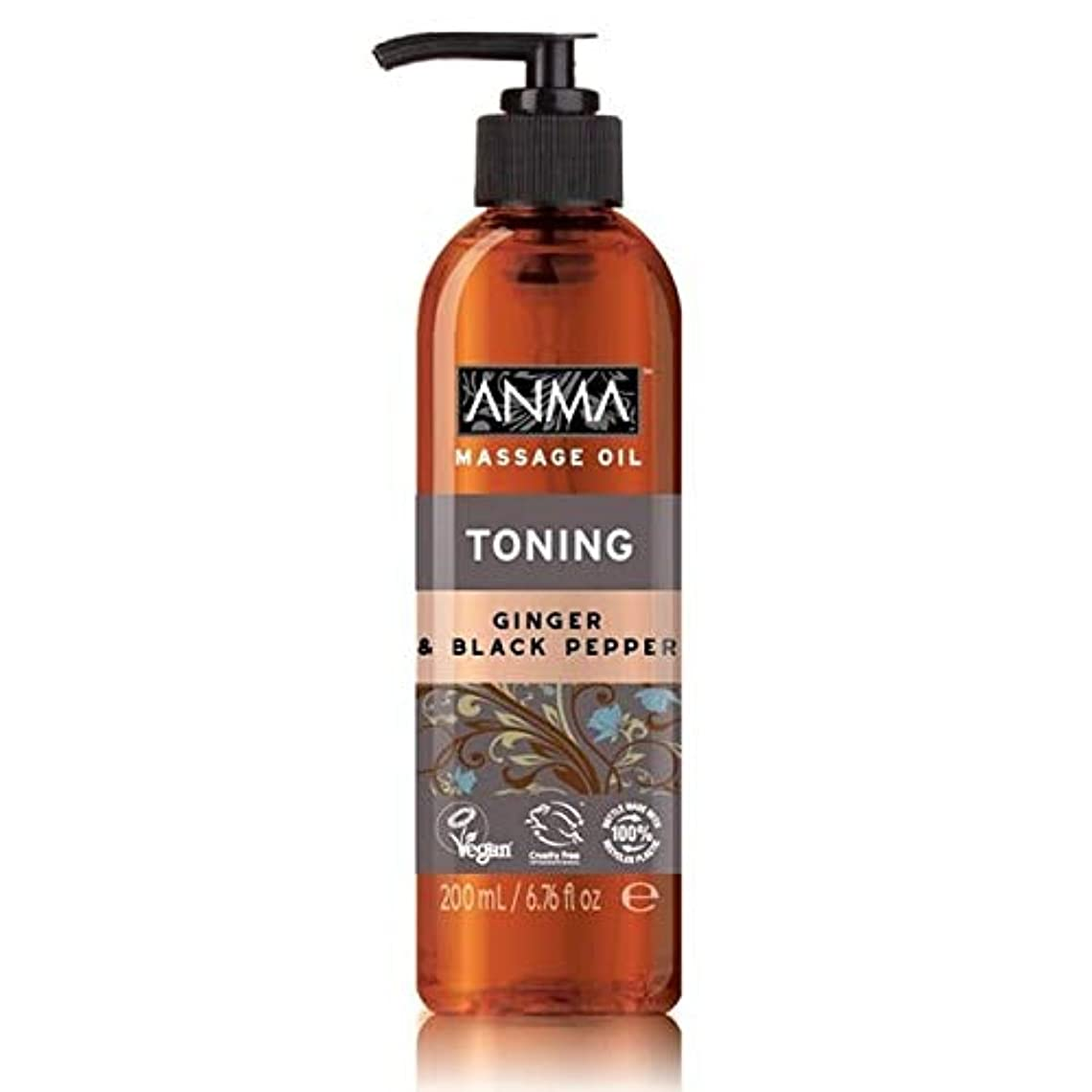 セラー好戦的な首尾一貫した[Anma ] あんまマッサージオイル調色 - Anma Massage Oil Toning [並行輸入品]