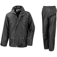 Result Mens Core Rain Suit (Trousers And Jacket Set)