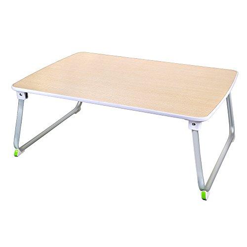 [해외]OGORI 침대 테이블 접이식 밥상 - 로우 테이블 사이드 테이블 부러진 다리 간이 책상 캠핑 테이블 70 × 50 × 27cm 자연/OGORI bed table folding cha table - low table side table folding leg simple desk camp table 70 × 50 × 27 cm natural