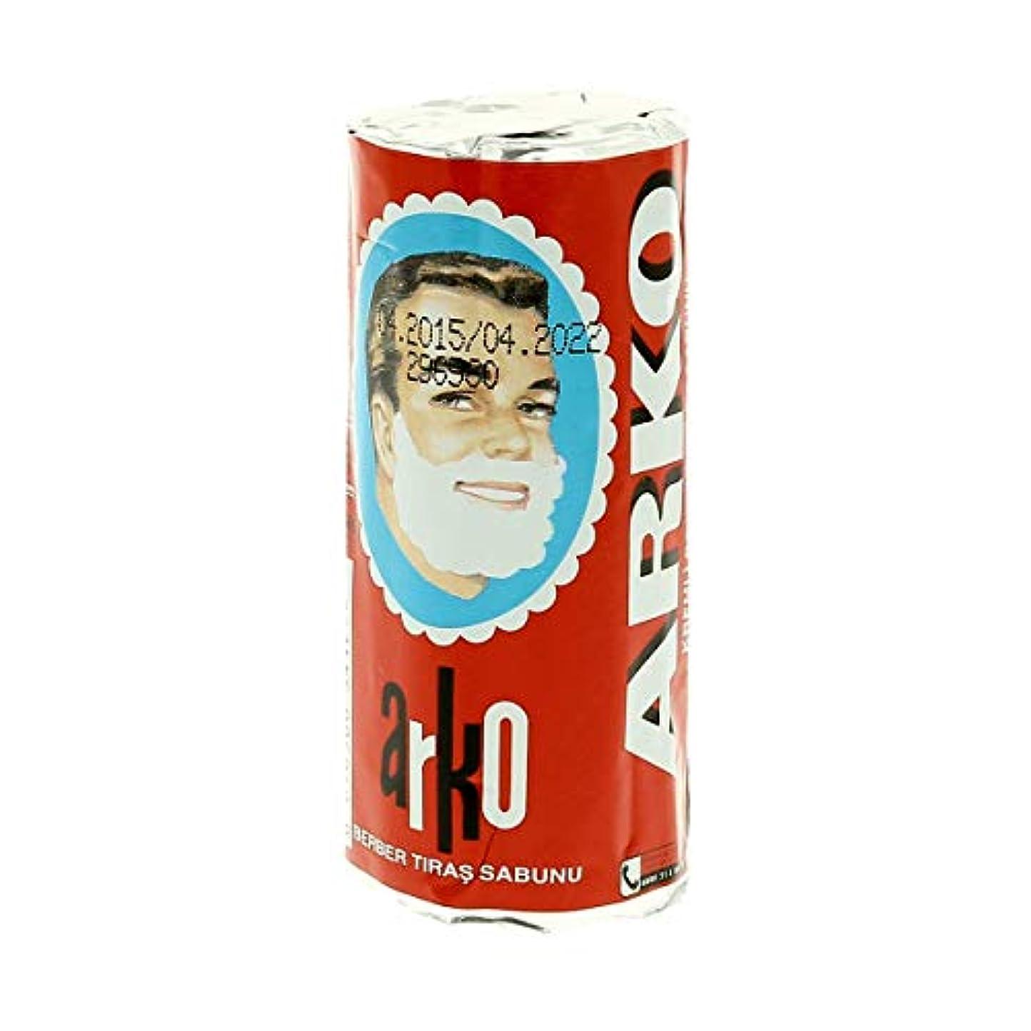乞食陽気な櫛Arko アルコ シェービングクリームソープスティック75g[海外直送品]Arko Shaving Cream Soap Stick 75g [並行輸入品]