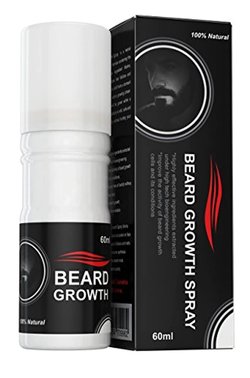 弱めるモード同様のBeard Growth Spray®(ベアードグロースプレー®)- ヒゲの育毛剤 - 100%天然成分使用