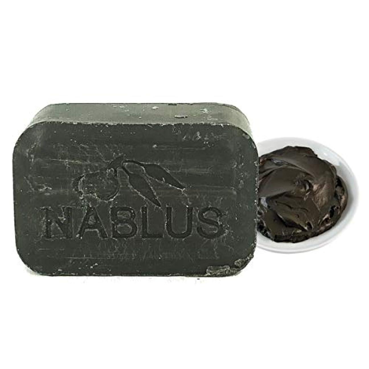 【正規販売店】ナーブルスソープ 無添加 オーガニック石鹸 洗顔&ボディー 100g エコサート認証取得 (死海の泥 (Dead Sea Mud))