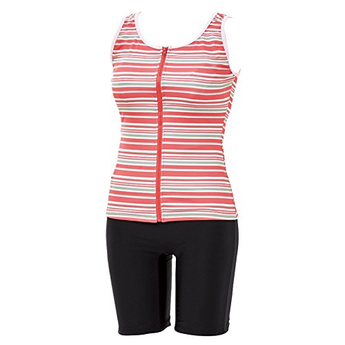 [해외](닛센) nissen 여성 수영복 체형 커버 보정 수영복 피트니스 탄 키니 상하 설치 국경/(Nissen) nissen Women`s swimwear Body Cover Compensation Swimsuit Fitness Tankini Up and Down Setup Border