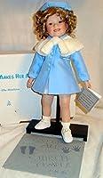 Danbury Mint 磁器シャーリーテンプル人形 - シャーリーが彼女をマークします - 高さ15インチの人形 Elke Hutchens