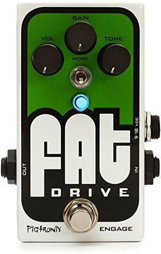 Pigtronix Bass FAT Drive ピグトロニクス ベース 用 オーバードライブ ディストーション エフェクター  【並行輸入品】