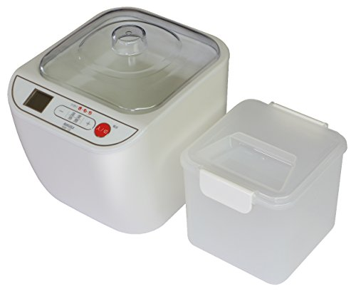 ナカサ 甘酒メーカー 容器容量1000ml NAM-10L...