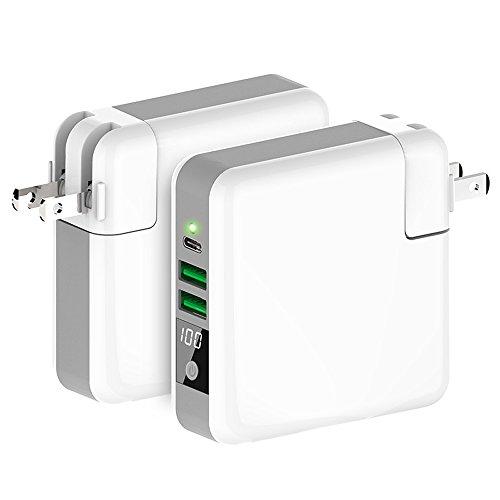 【LIHOULAI】Qiワイヤレス充電器 モバイルバッテリー...
