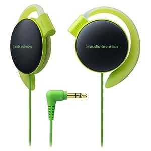 audio-technica COLORS オープン型オンイヤーヘッドホン 耳掛け式 ライトグリーン ATH-EQ500 LGR