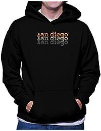 San Diego repeat retro フーディー