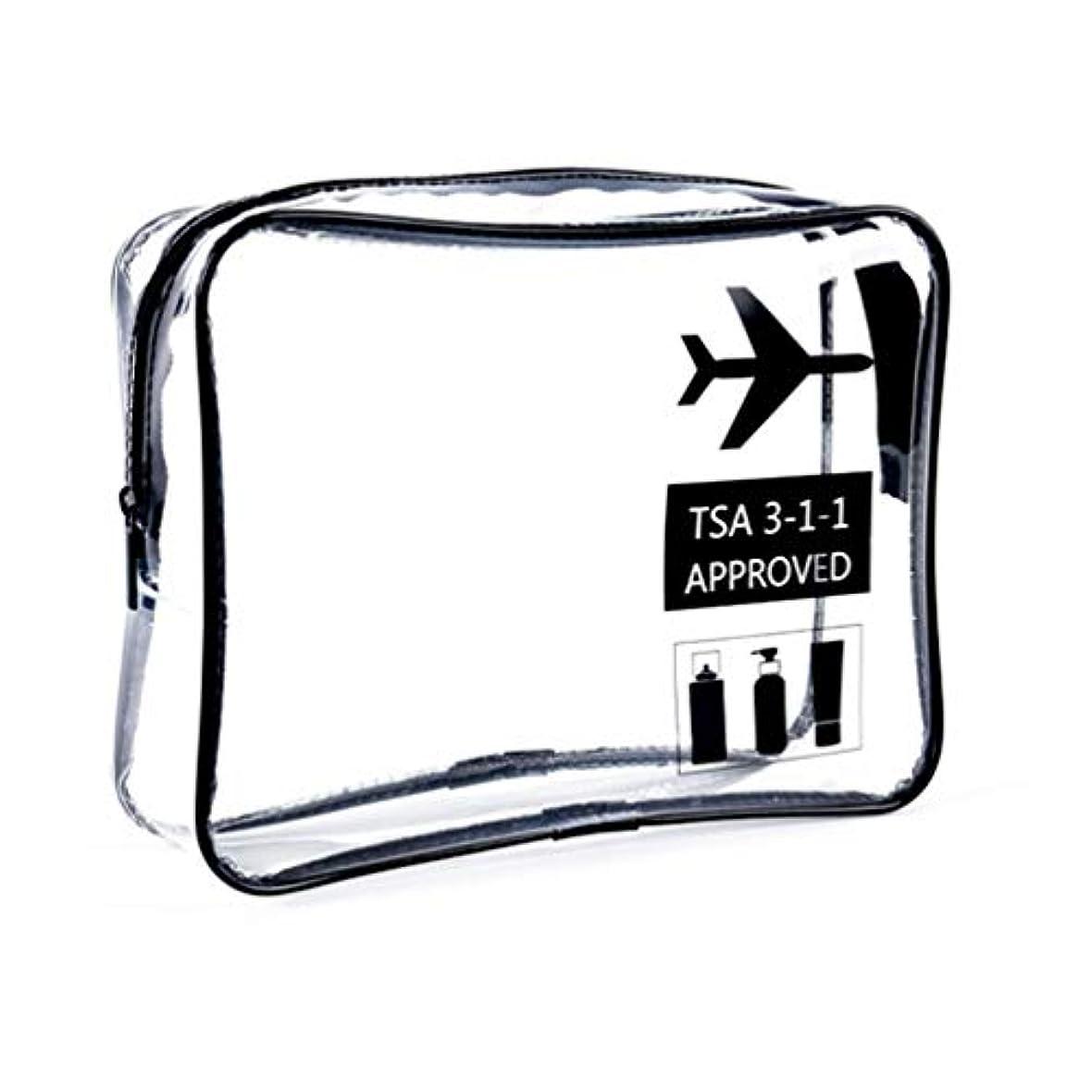 美的カンガルーアナニバー明確な化粧袋、ジッパー旅行貯蔵袋の化粧品の箱が付いている携帯用防水化粧品袋