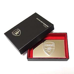 Arsenal アーセナル 名刺ケース(ビジネスカードホルダー) シルバー