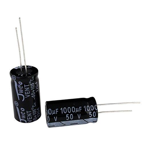 【10個】 電解コンデンサー 50V 1000uF 13x2...