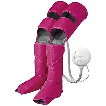 パナソニック エアーマッサージャー レッグリフレ ひざ/太もも巻き対応 温感機能搭載 ピンク EW-RA96-P
