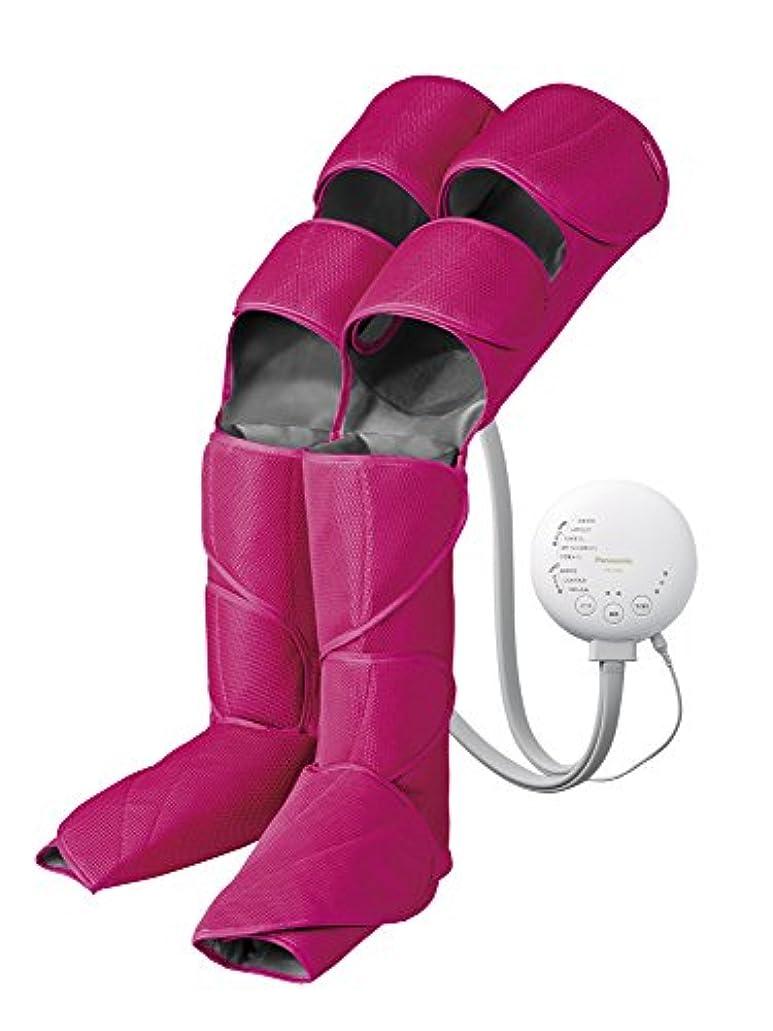 から能力分パナソニック エアーマッサージャー レッグリフレ ひざ/太もも巻き対応 温感機能搭載 ピンク EW-RA96-P