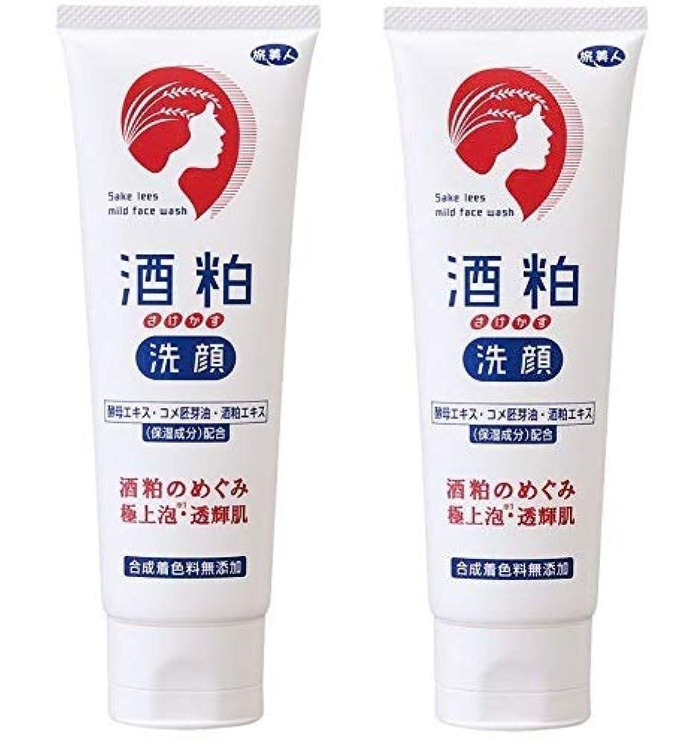 チューブ薄めるに頼る旅美人 酒粕洗顔 アズマ商事 (2個)